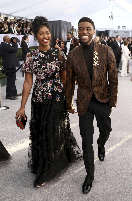Taylor Simone Ledward, Chadwick Boseman