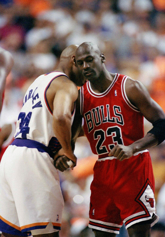 Michael Jordan, Charles Barkley