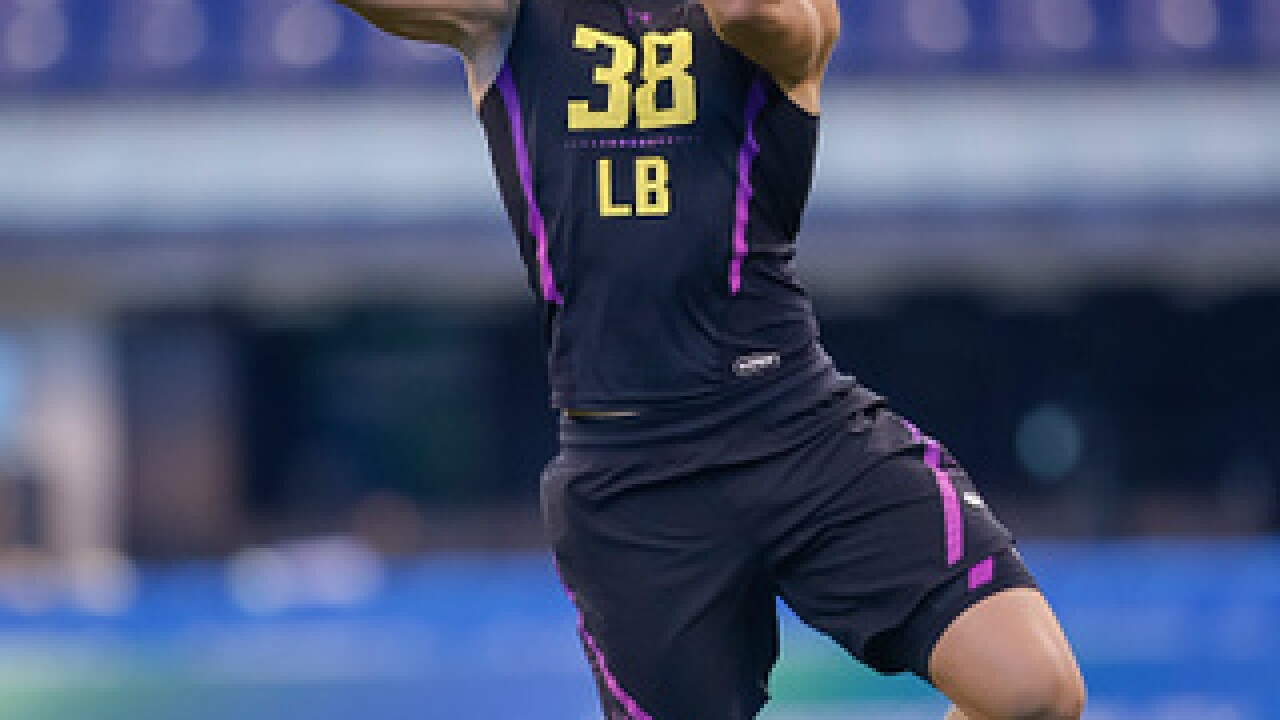 NFL Combine was buzzing for Leighton Vander Esch