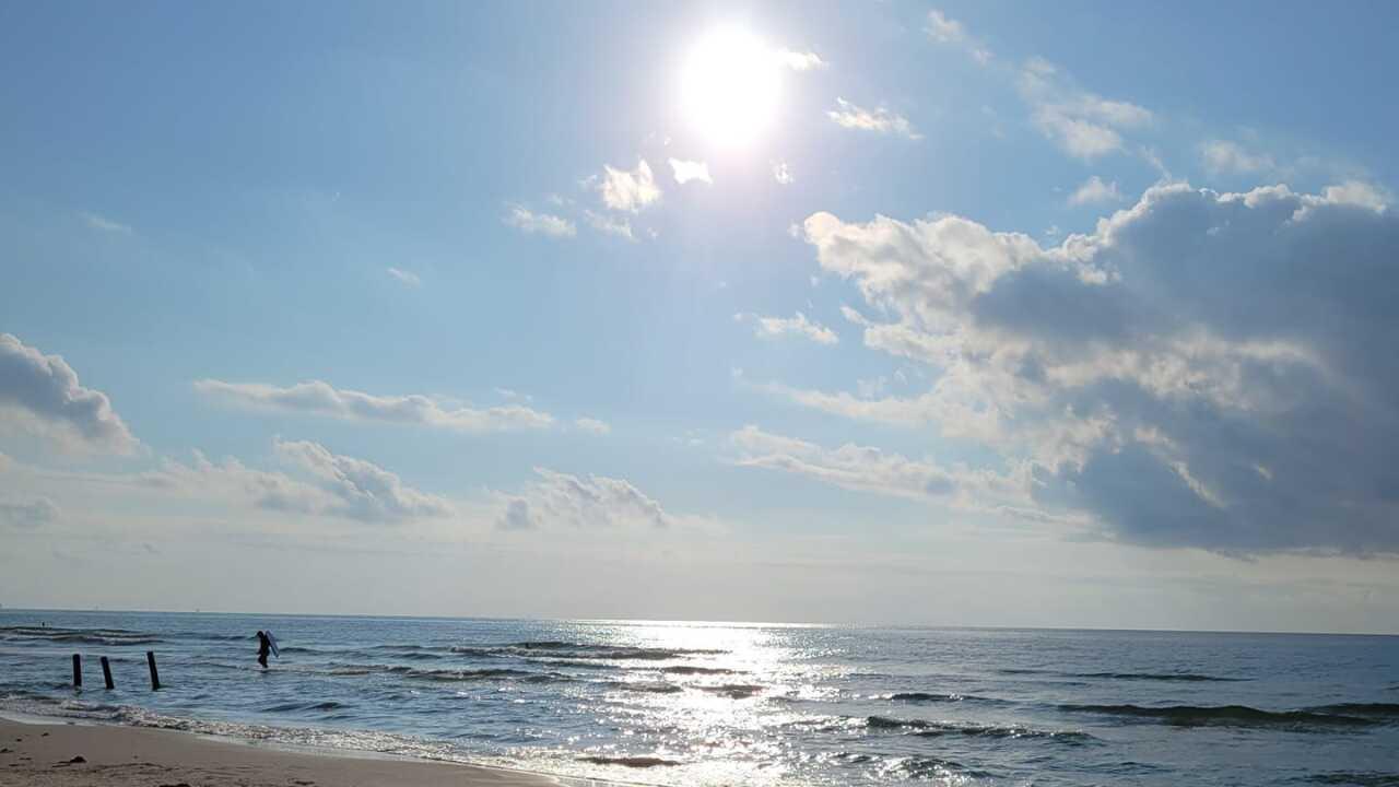 Sunrise at the Beach - Photo By: FB Coastal Bend Weather Watcher Belinda Barragan