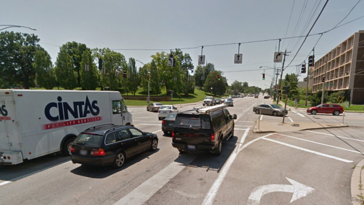 9 Cincy intersections with most pedestrians hit