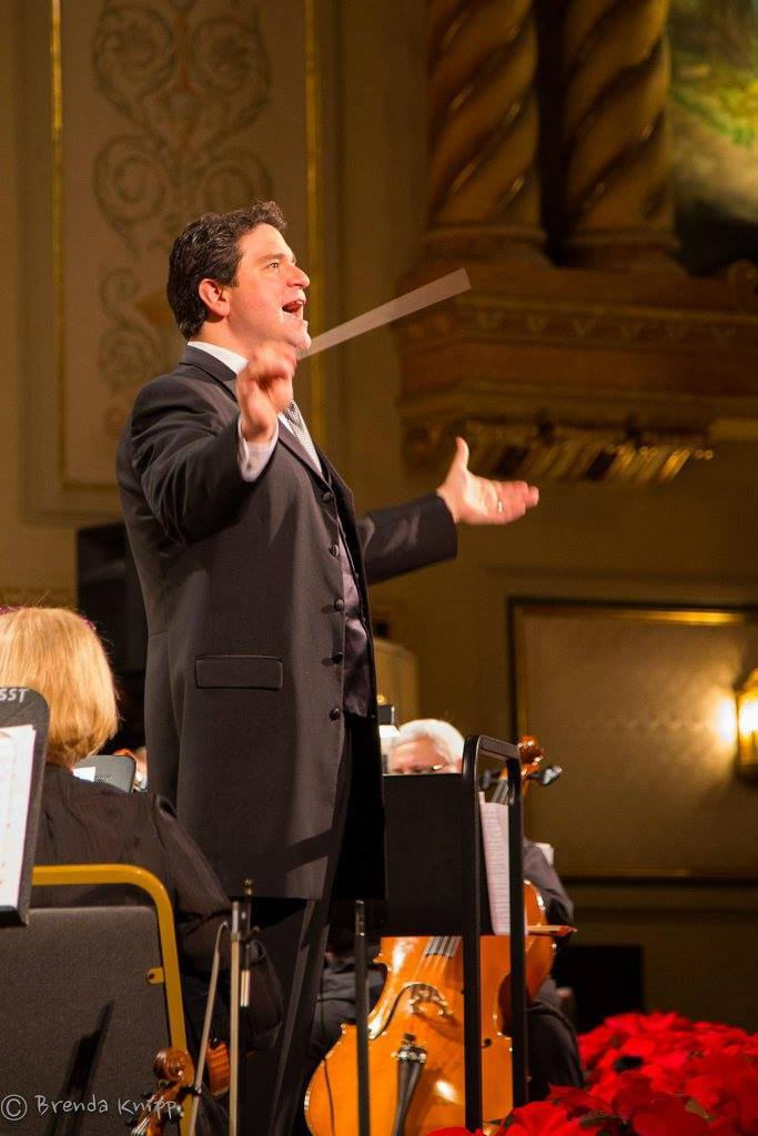 Michael Shirtz conducting
