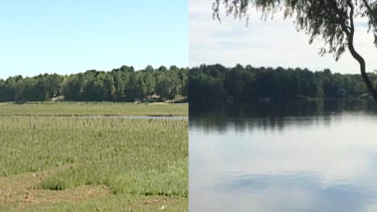 Sanford Lake Before After