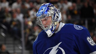 Lightning goalie Andrei Vasilevskiy out 4-6 weeks with fractured foot