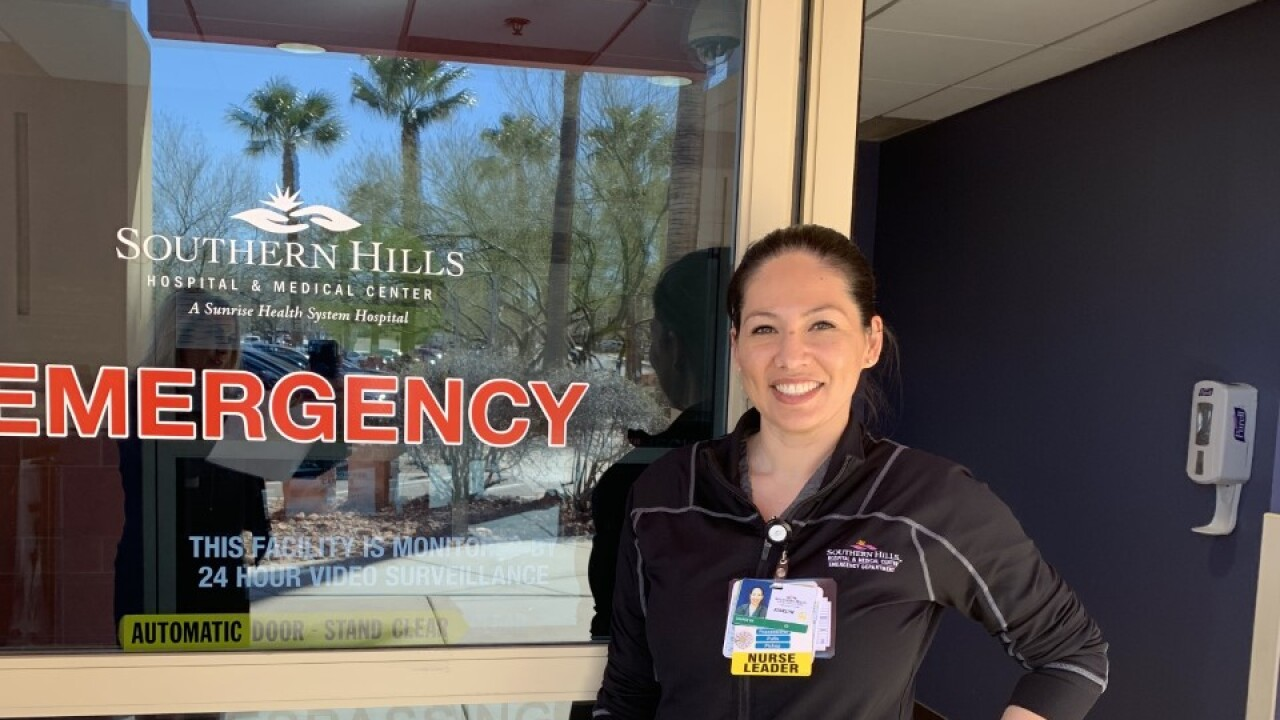 Josielyn James goes above and beyond for patients at Southern Hills ER