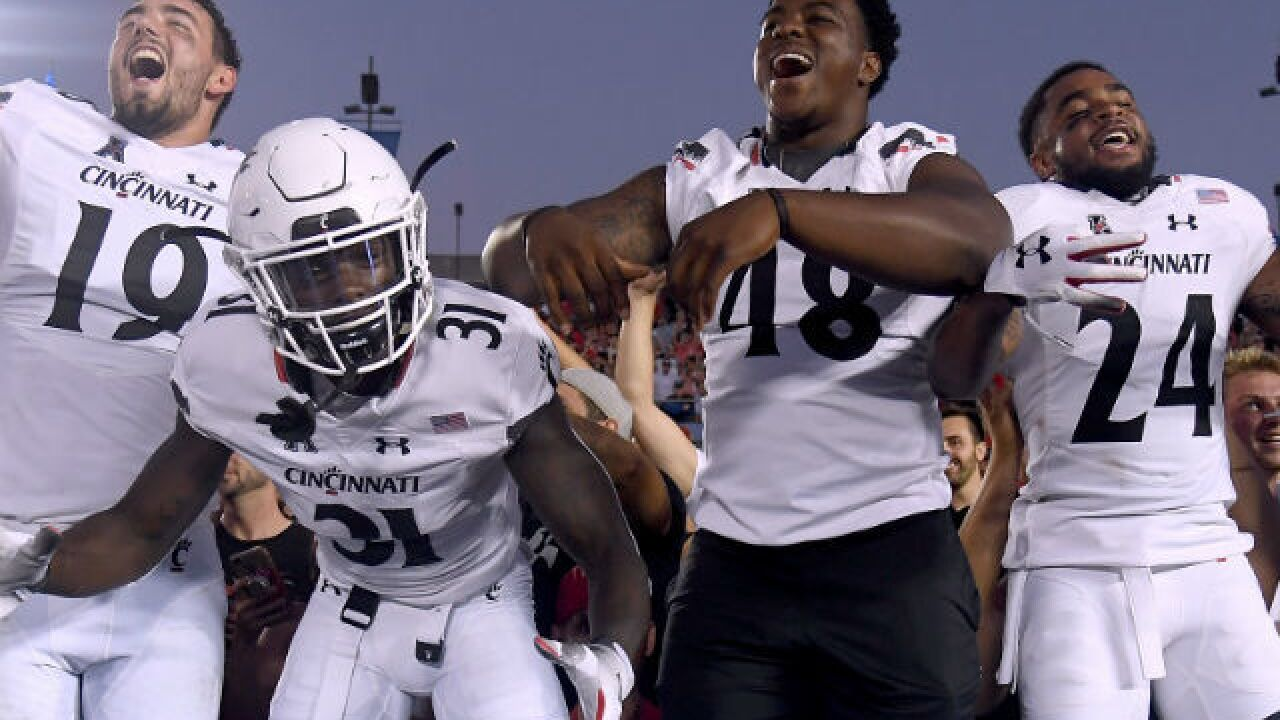 Shocking win over UCLA could be turning point for Cincinnati Bearcats, coach Luke Fickell