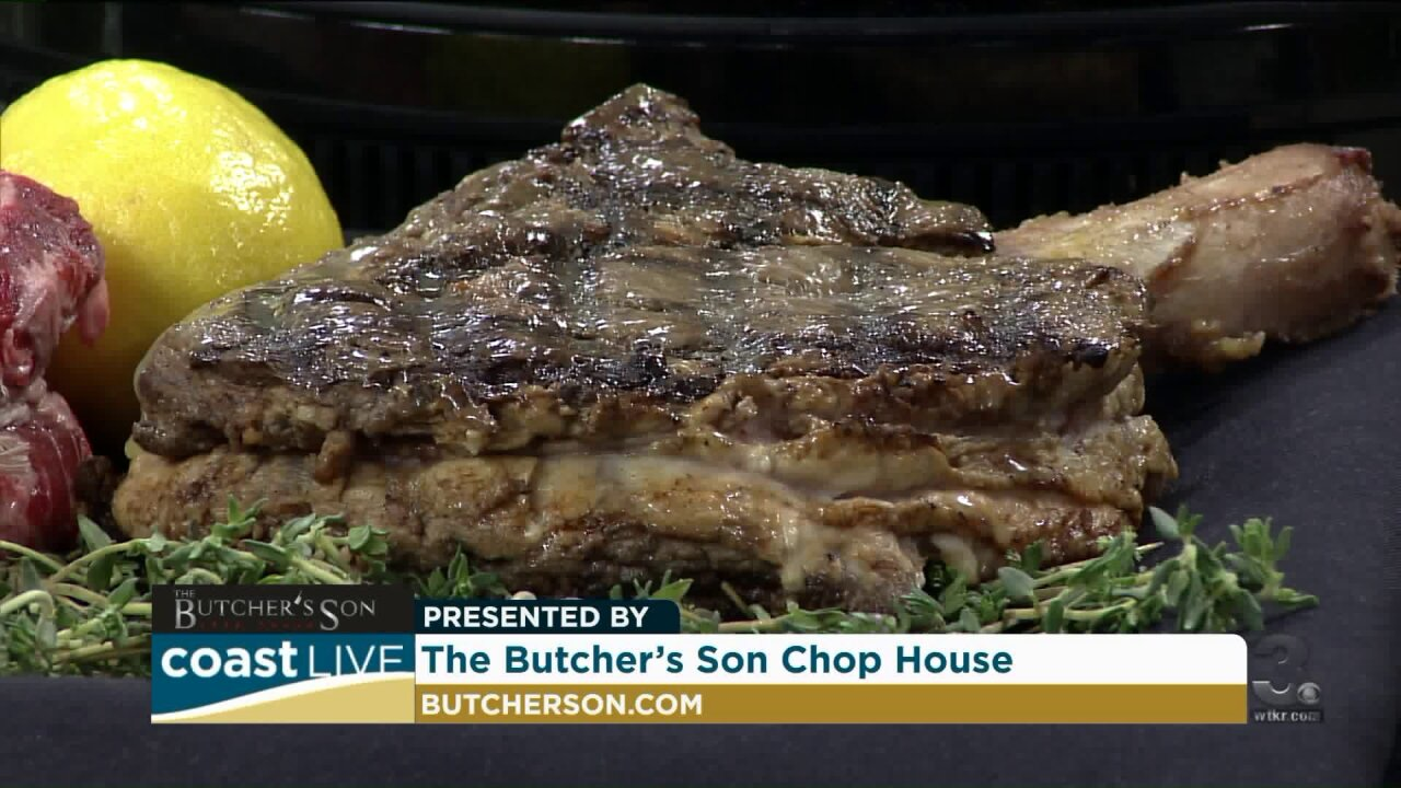 Preparing for the Father's Day brunch at The Butcher's Son on Coast Live