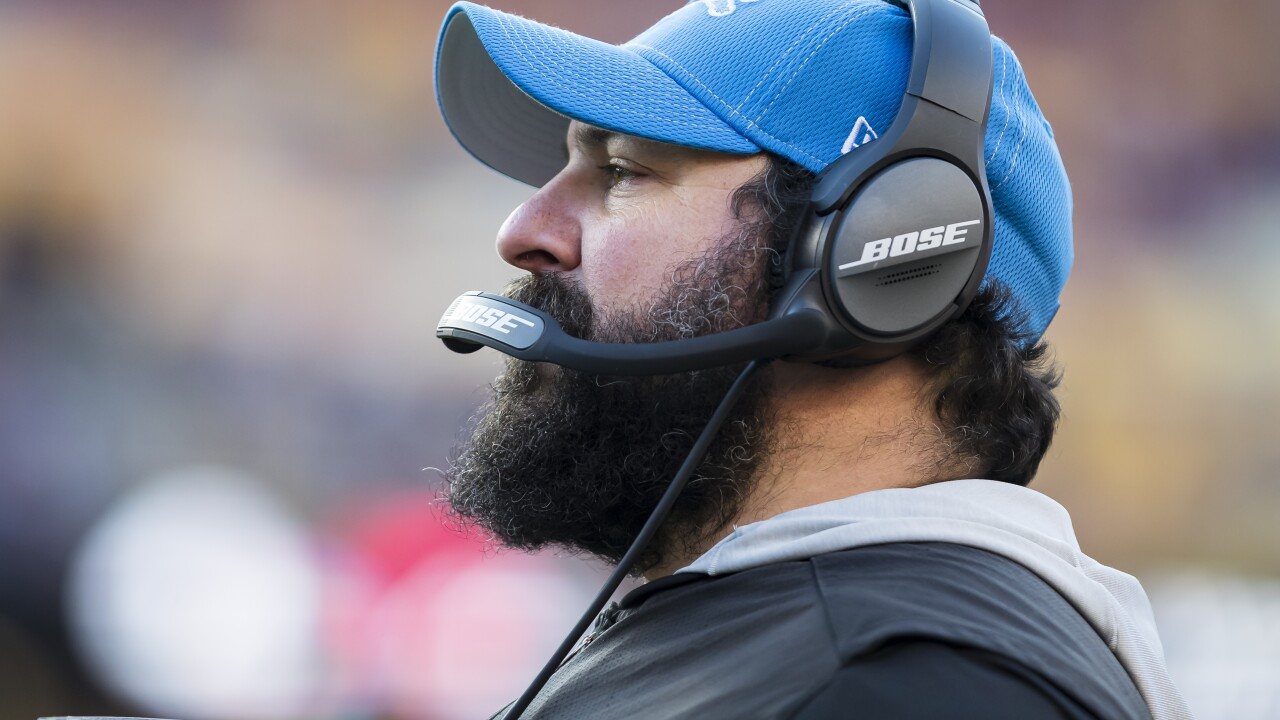 Matt_Patricia_Detroit Lions v Washington Redskins