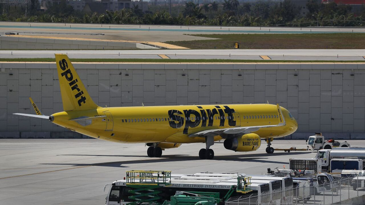 Spirit Airlines passenger banned for life after vaping on flight