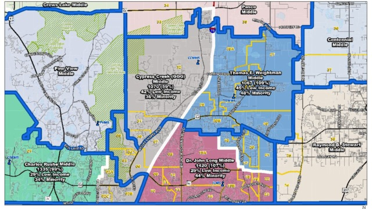 Pasco Co. approves school rezoning plans