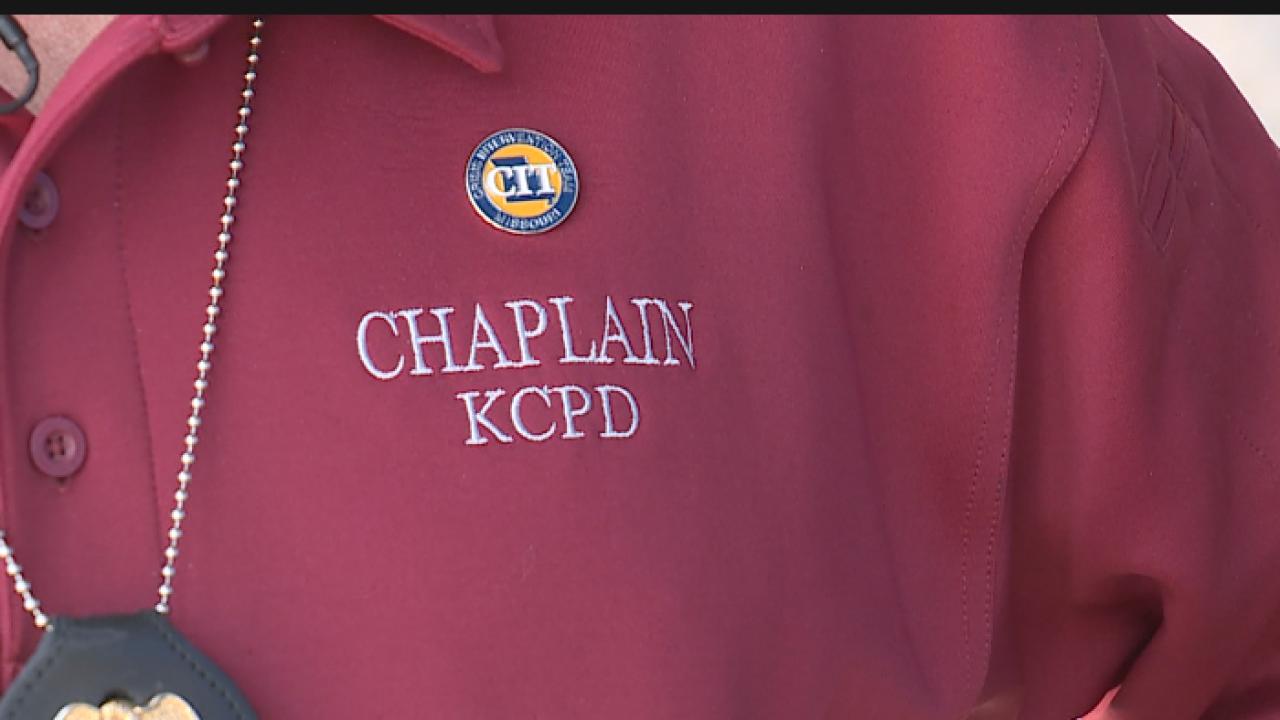 KCPD chaplain