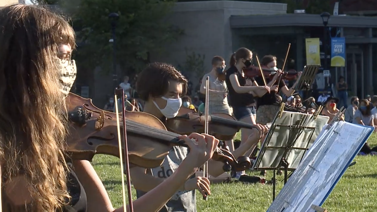 Violin vigil for Elijah McClain