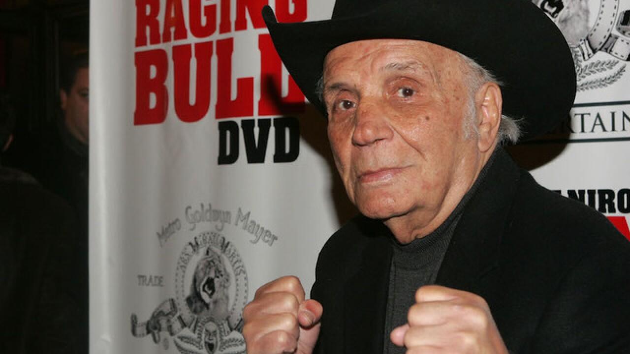 'Raging Bull' Jake LaMotta dies at 95