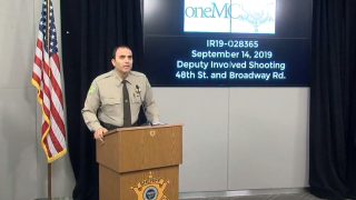 MCSO presser on deputy-involved shooting