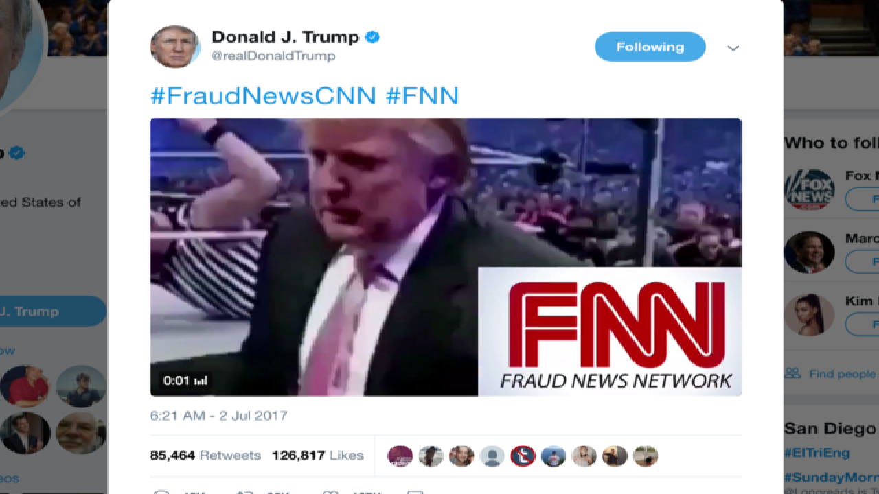 DC Daily: President Trump 'punches' CNN in tweet
