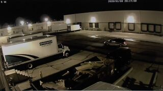 suspect seen stealing truck batteries.JPG
