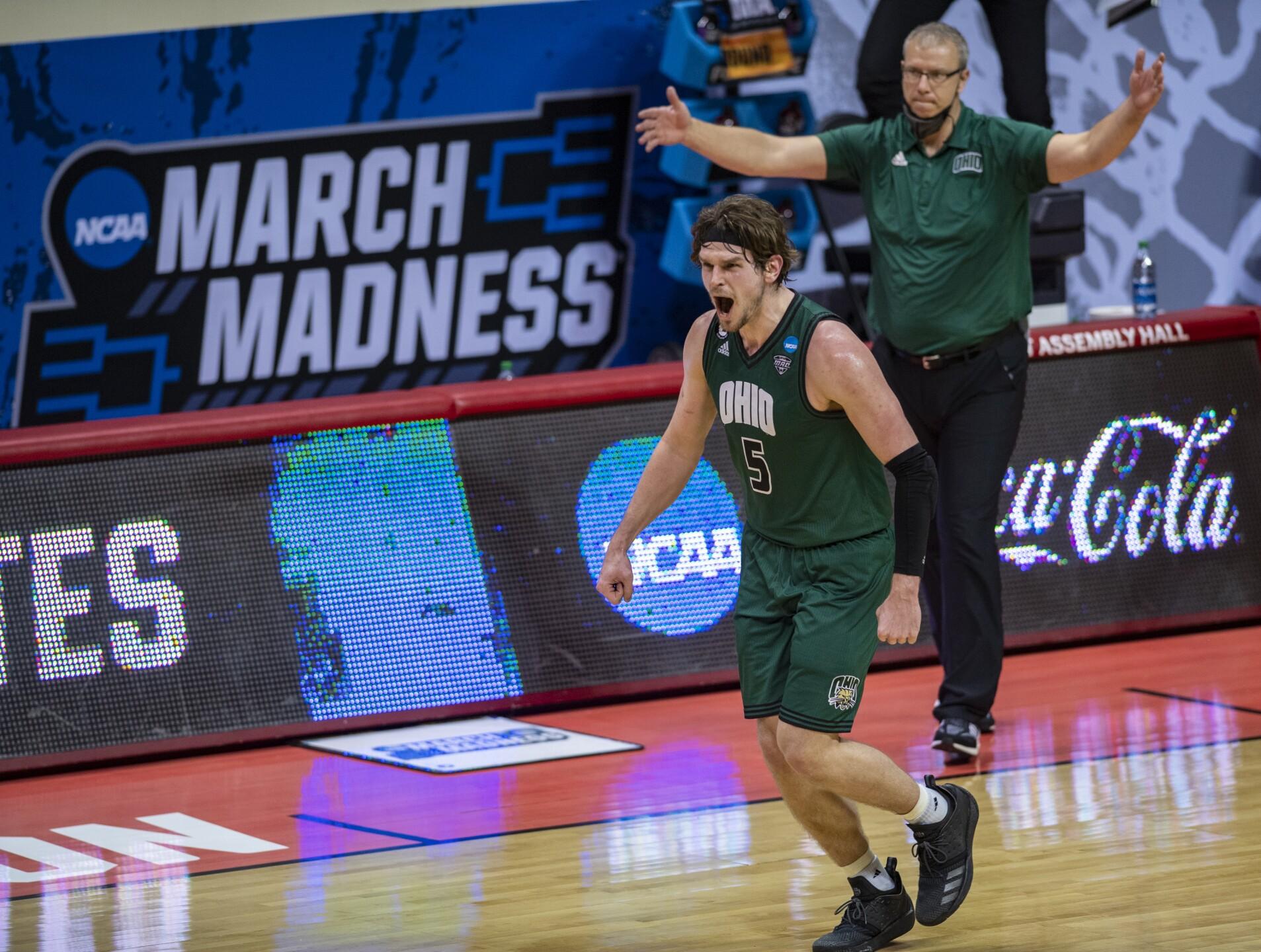 NCAA Virginia Ohio Basketball