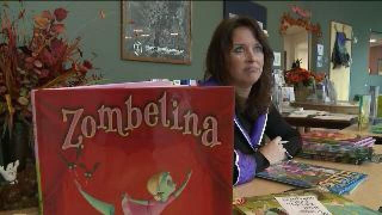 Utah author gets national recognition for spooky children's books