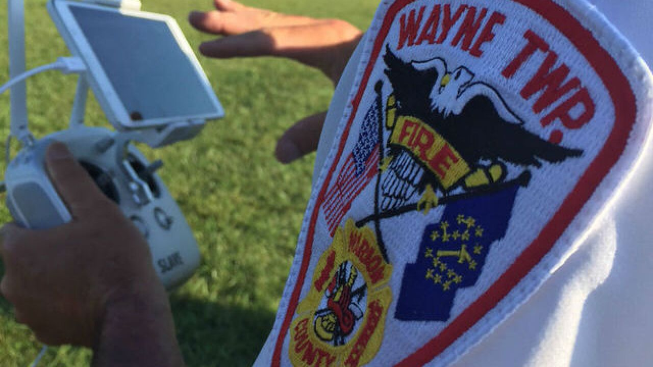 Wayne Twp Fire Department to begin using drones