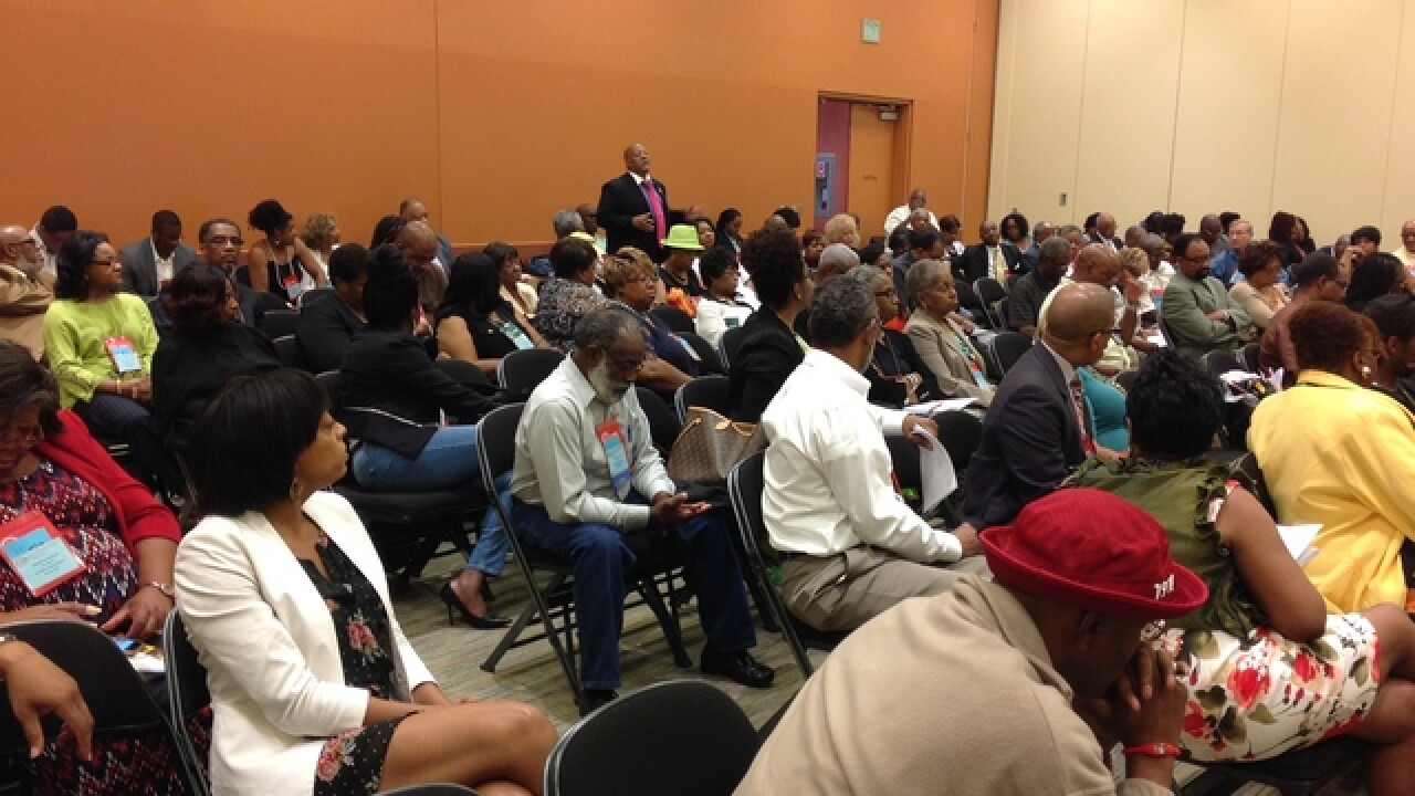 'These are wounded places,' say NAACP panelists