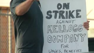 Kellogg's workers enter second week of strike at Omaha plant