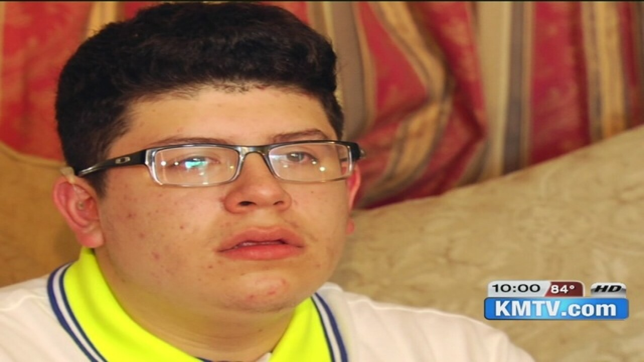 Bullied deaf student overwhelmed by support