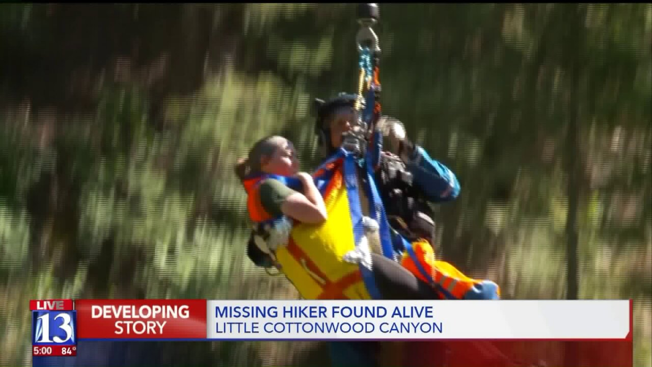 Search and rescue crews find overdue hiker in Little CottonwoodCanyon