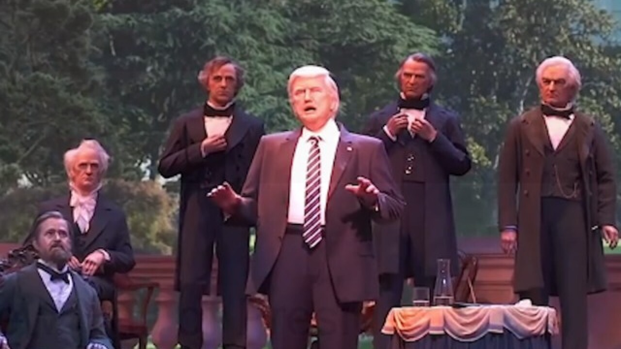 Disney World adds Donald Trump robot to its 'Hall of Presidents'