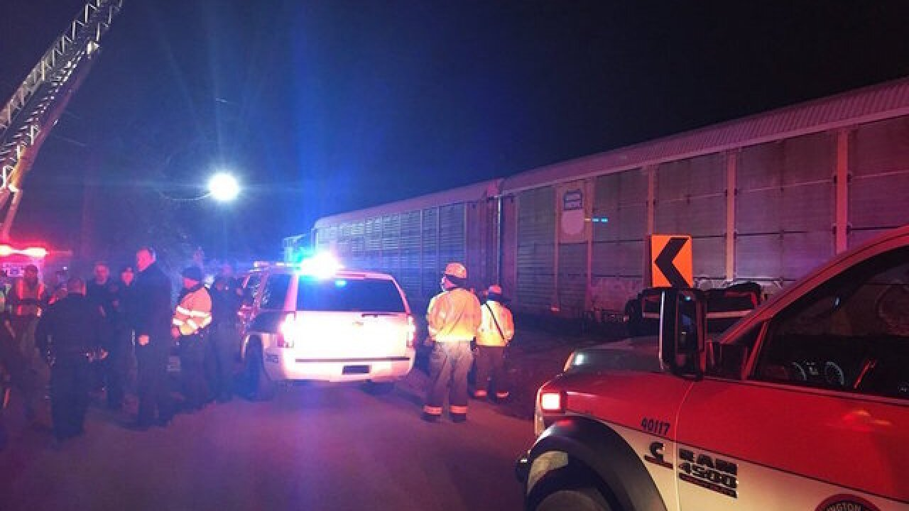 Two killed, 116 injured in crash involving Amtrak train and freight train