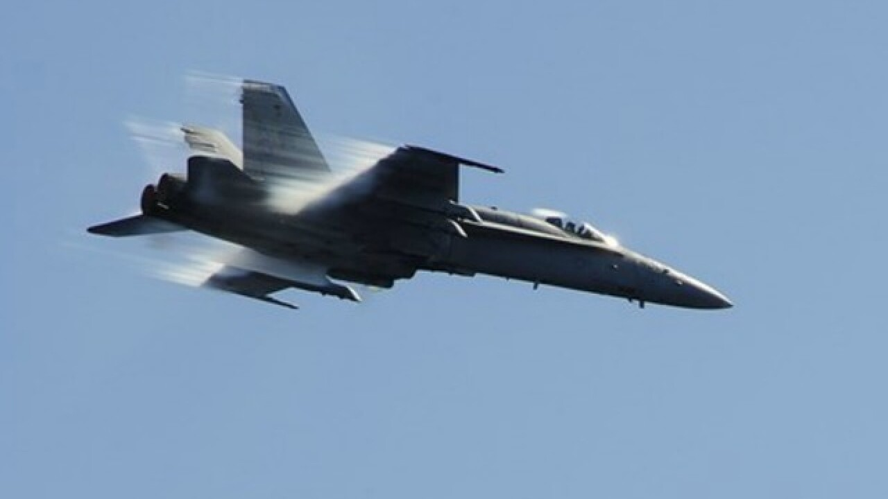 Busier and louder skies around the Tampa Bay Area as MacDill hosts fighter jets from Virginia