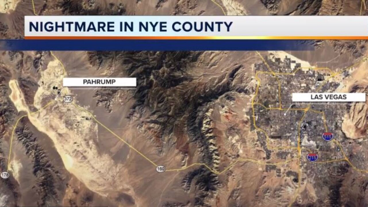 Nye County Sheriff'sNye County Sheriff's Office investigation Office investigation