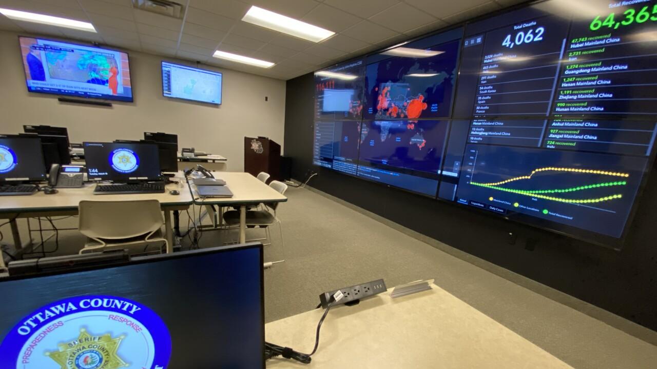 Ottawa County Health Department Emergency Response Command Center