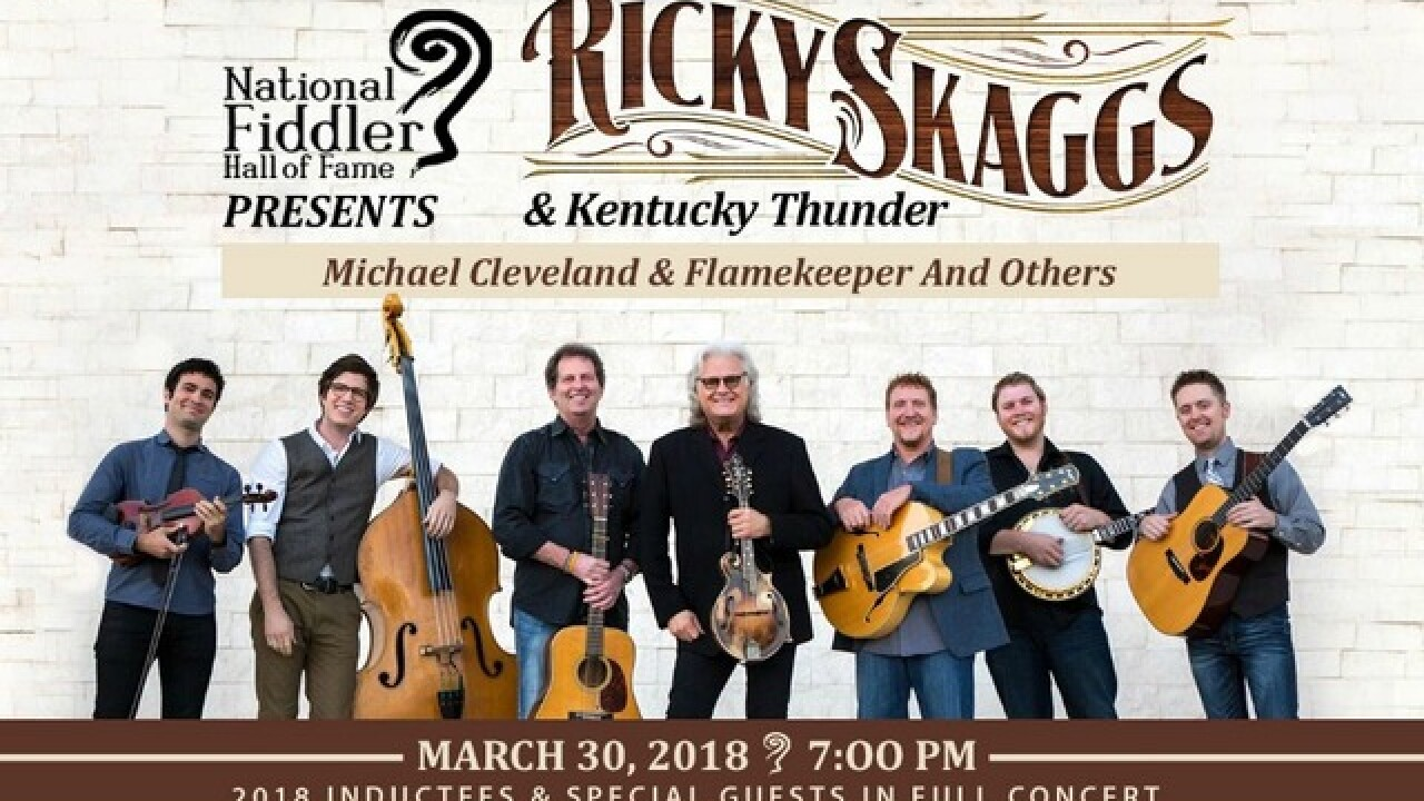 Watch 2 Win a pair of tickets to the National Fiddler Hall of Fame at the Mabee Center Mar. 30