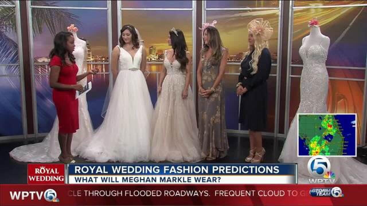 Royal wedding fashion predictions