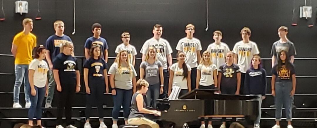 North Ridgeville choir
