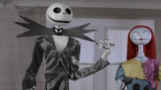Life-size 'Nightmare Before Christmas' Characters Move And Talk