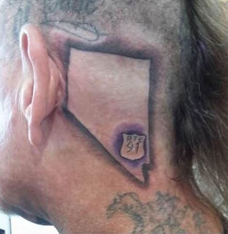 PHOTOS: Las Vegas-themed tattoos to support shooting victims