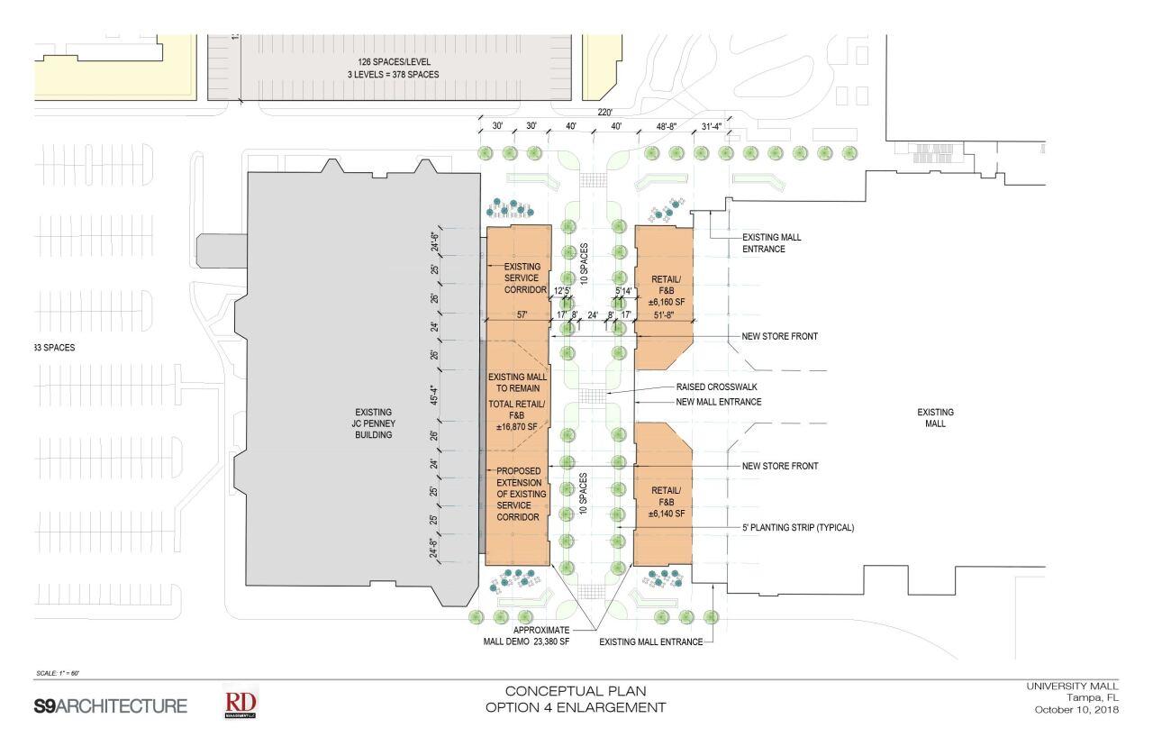 university mall rendering 1