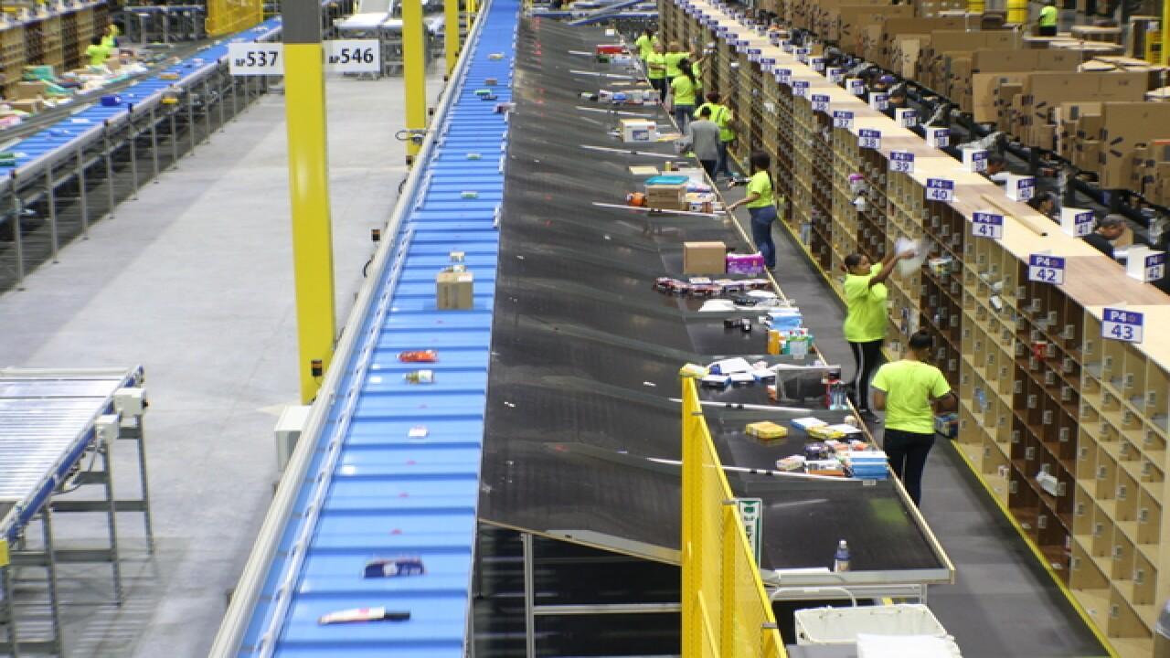 Walmart opens fulfillment center in Davenport