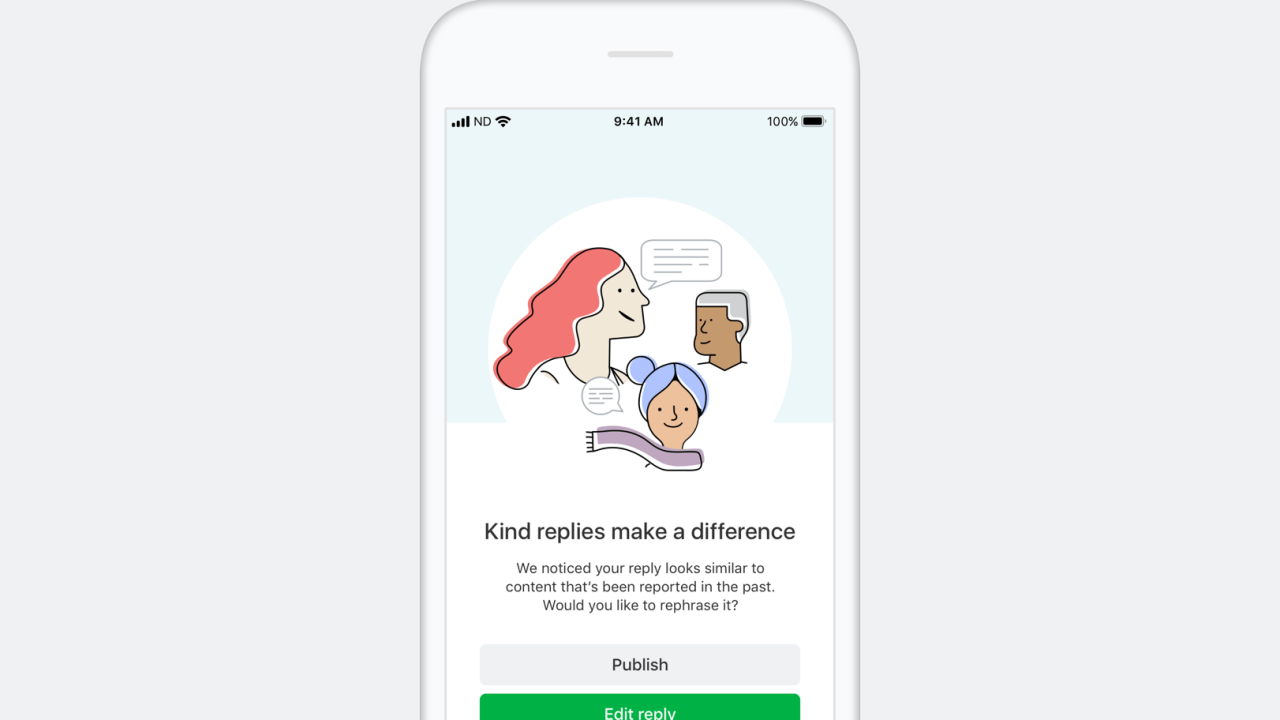 Nextdoor rolls out 'Kindness Reminder' feature because people just can't be nice online