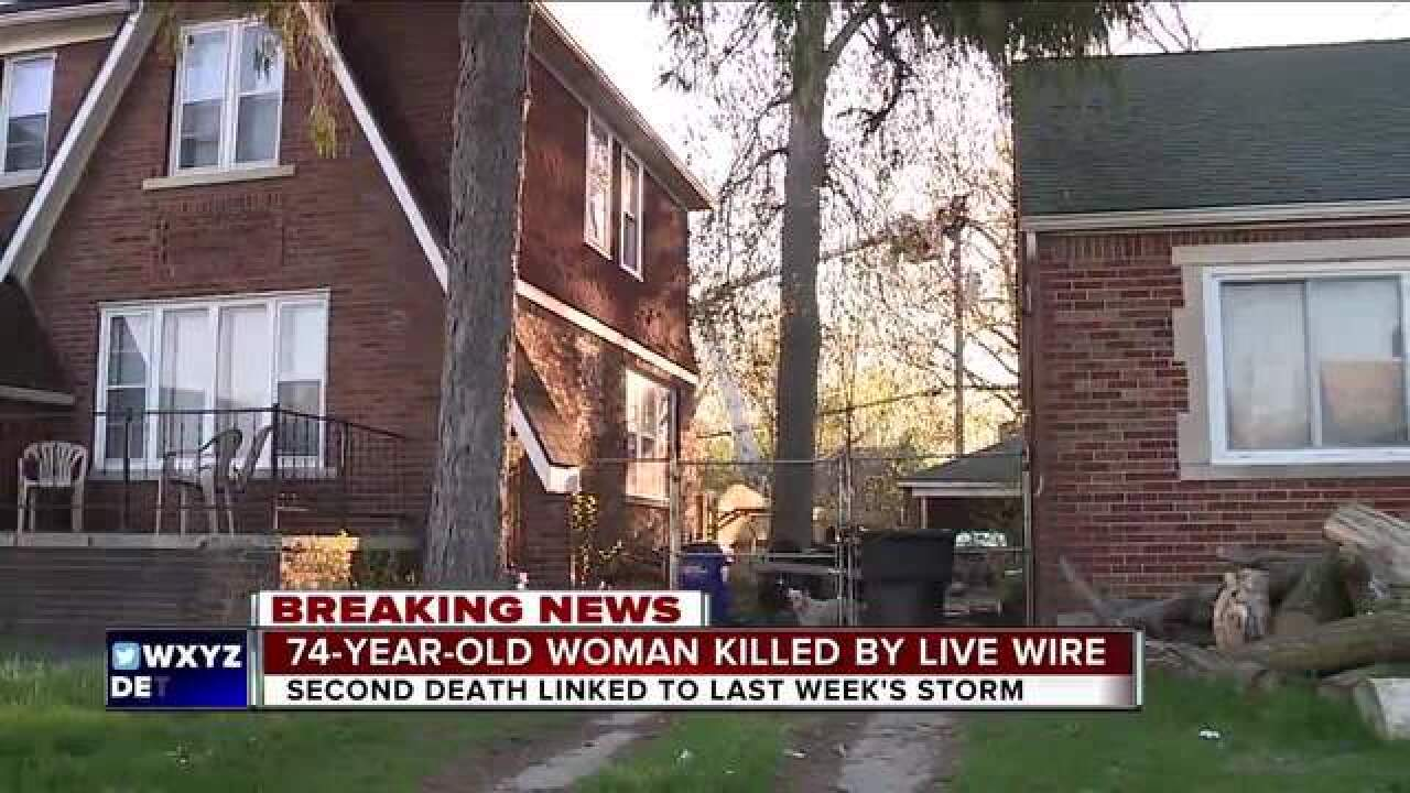 Woman electrocuted by downed wire in Detroit