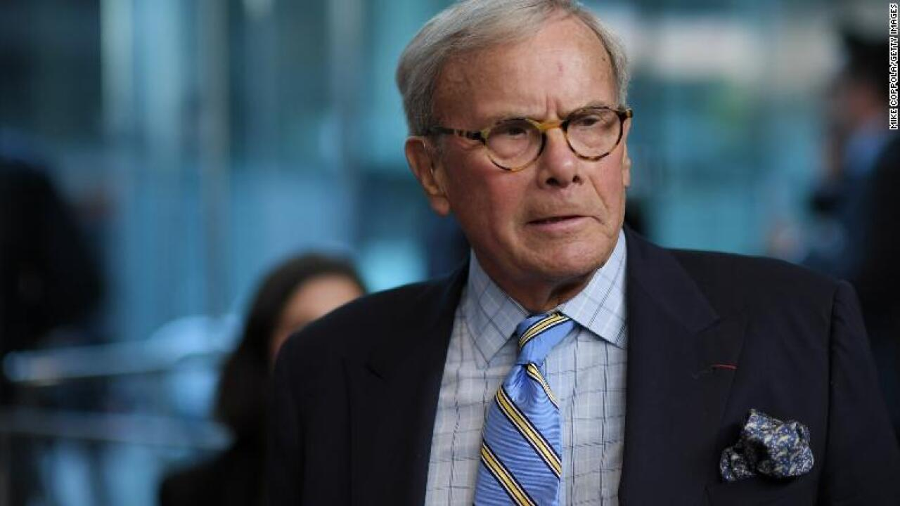 Brokaw calls accuser's statements 'a drive-by shooting'
