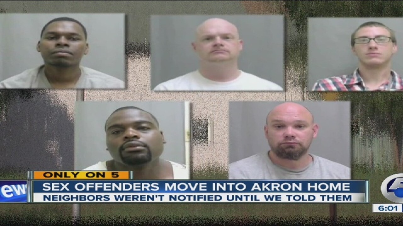 Sex offender group home moves into Akron