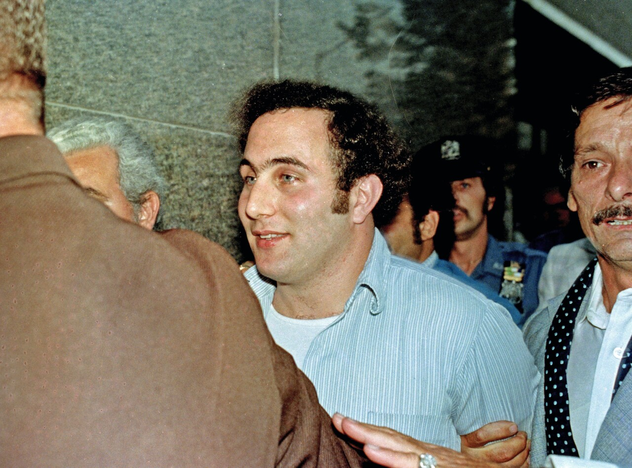 David Berkowitz, 'Son of Sam' serial killer, after arrest, Aug. 11, 2021