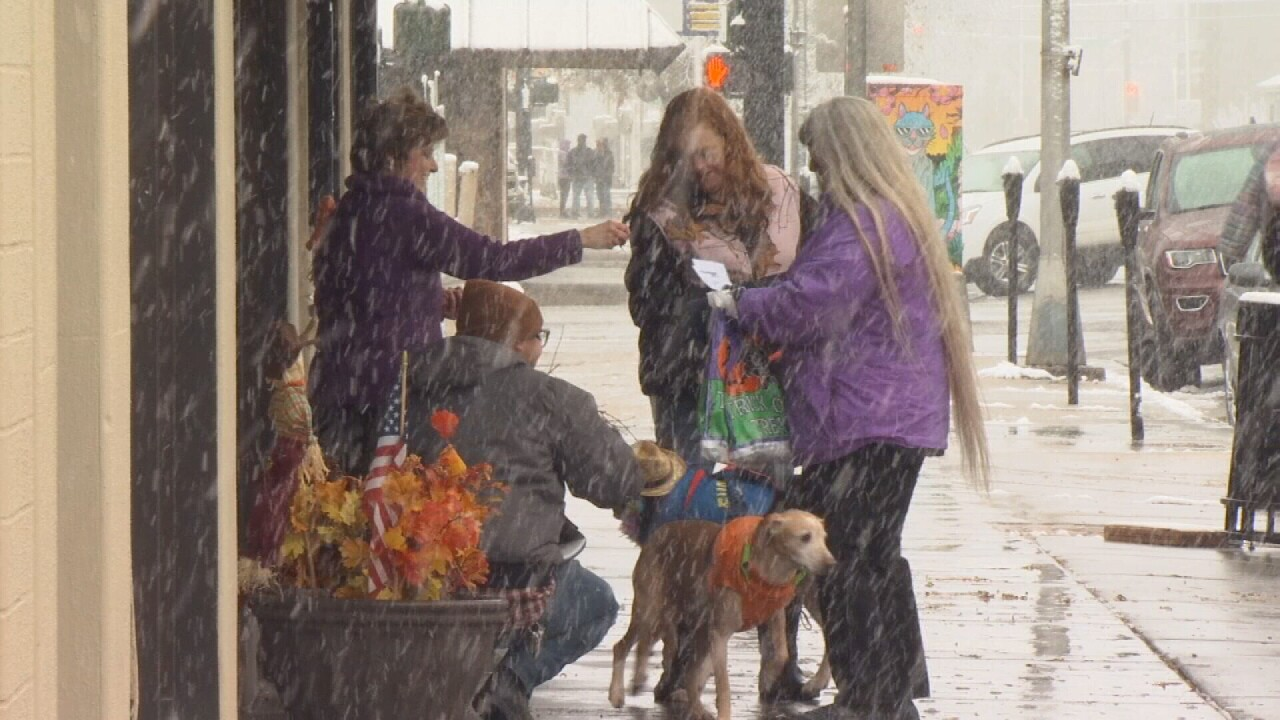 "Downtown Billings welcomed dogs and owners for ""Day of the Dogs Howl-O-Ween"