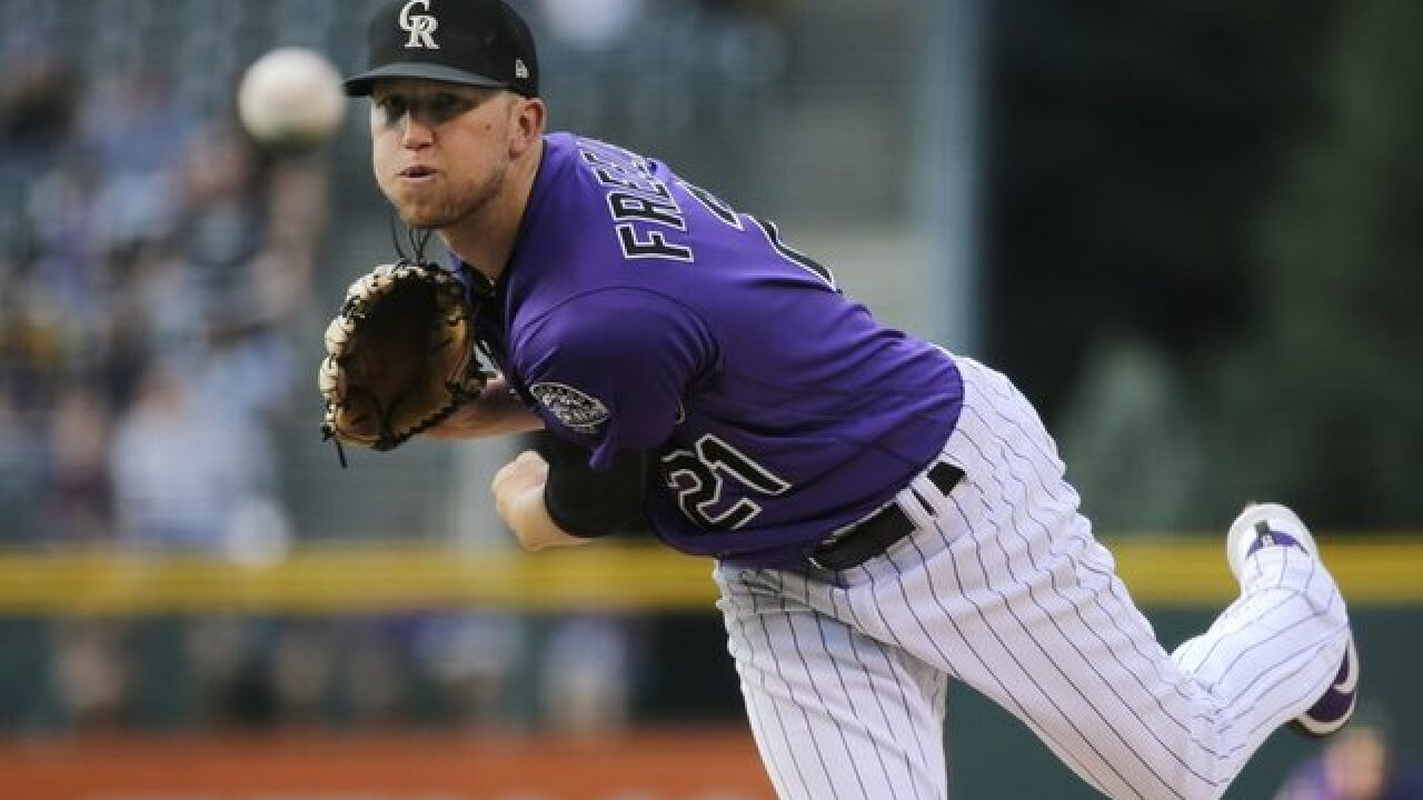 Kyle Freeland and the bullpen combined on a two-hitter to help the Rockies beat the Pirates 2-0