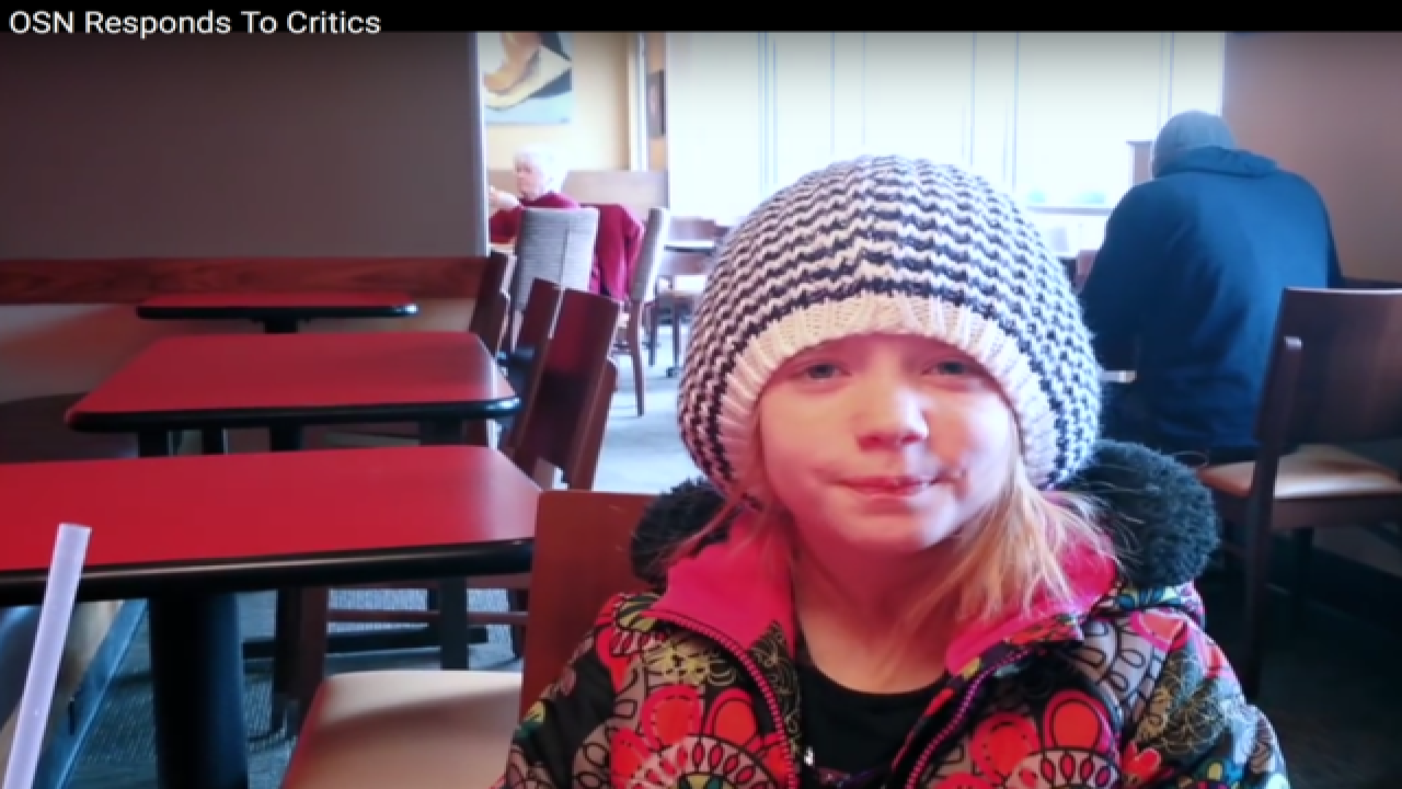 9-year-old reporter defends homicide coverage