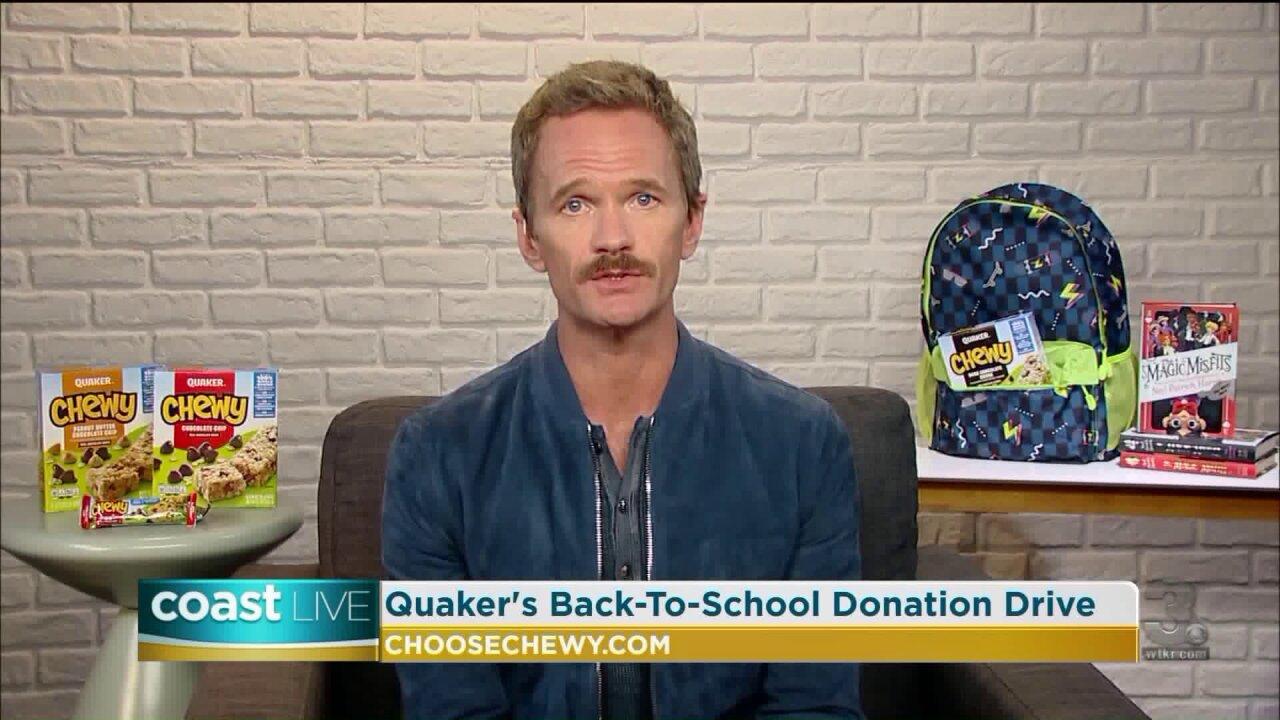Award-winning actor Neil Patrick Harris talks about helping teachers on CoastLive