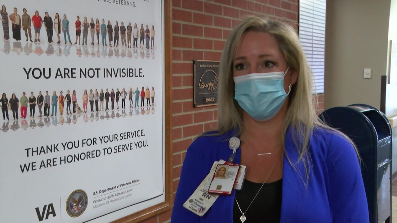VA nurses are volunteering their time and stepping into old positions to help with COVID response