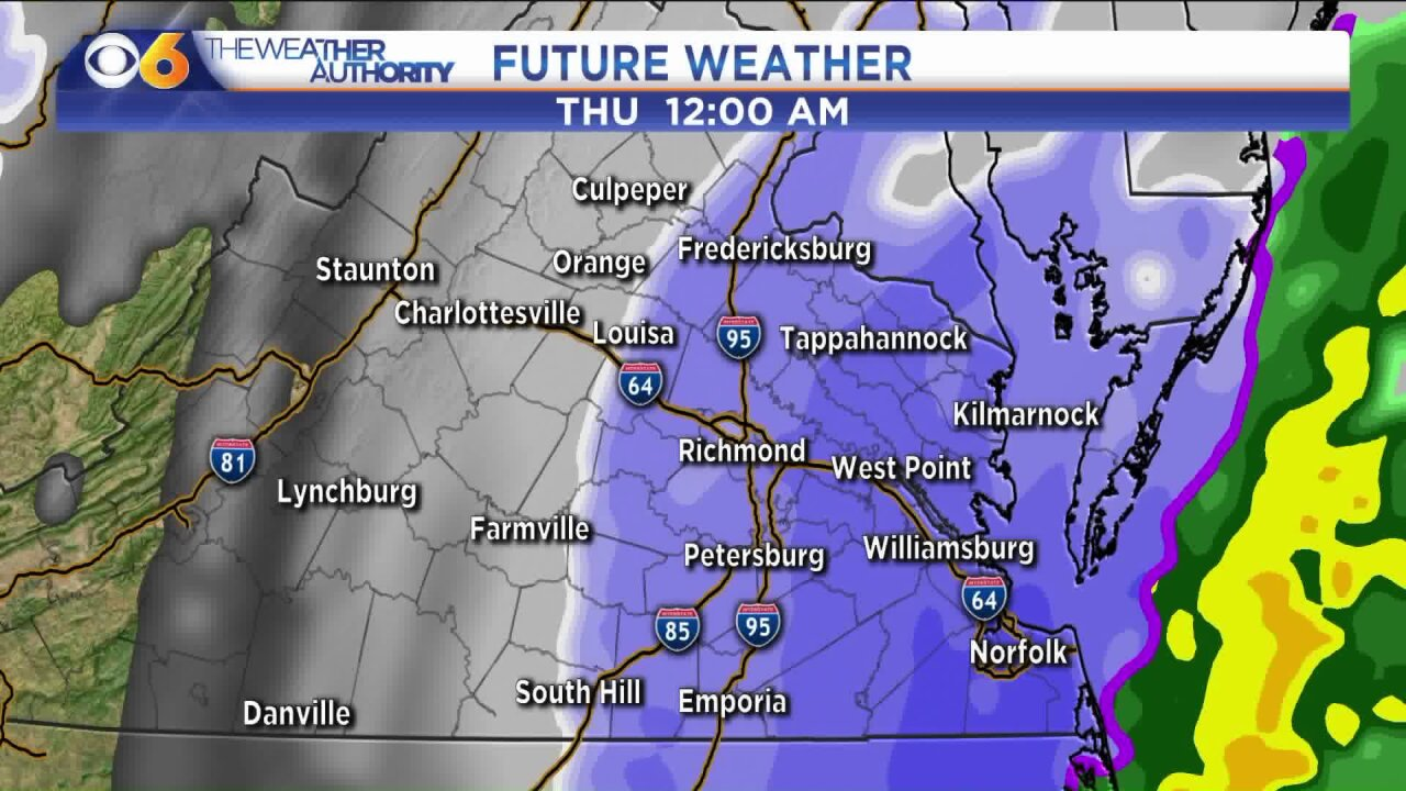 When will snow start? Hour-by-hour look at ❄️ winter storm inVirginia
